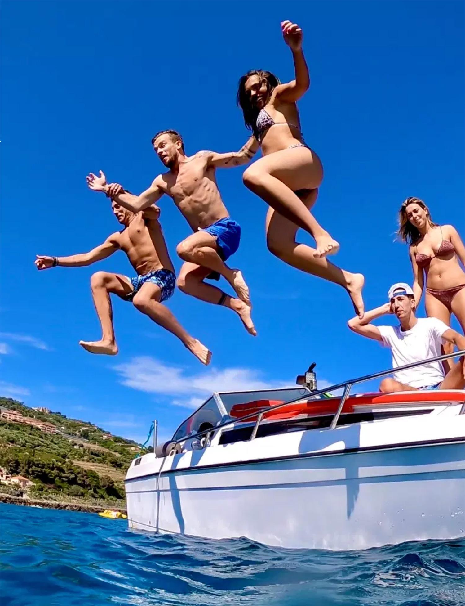 Liguria in barca